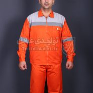 لباس کار عملیاتی کج راه تبلیغاتی مدل AL-252