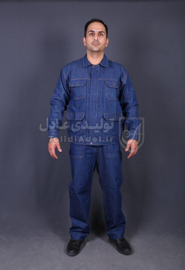 لباس کار لی عملیاتی جوشکاری مدل AL-250